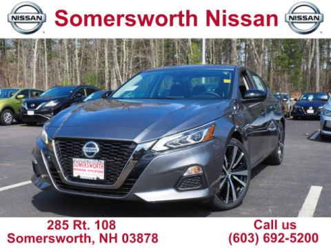 New 2020 Nissan Altima 2.5 SR for Sale in Somersworth, NH
