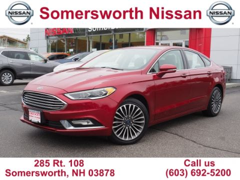 Pre-Owned 2017 Ford Fusion SE for Sale in Somersworth, NH