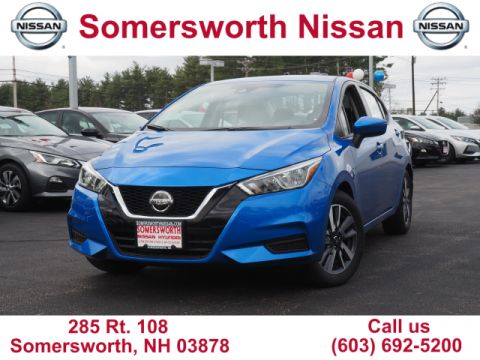 New 2020 Nissan Versa SV for Sale in Somersworth, NH