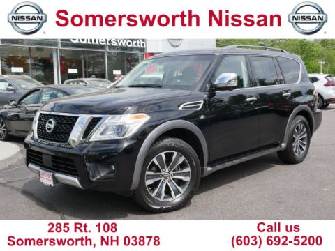 Pre-Owned 2017 Nissan Armada SL for Sale in Somersworth, NH