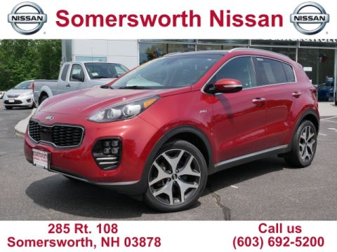 Pre-Owned 2017 Kia Sportage SX Turbo for Sale in Somersworth, NH